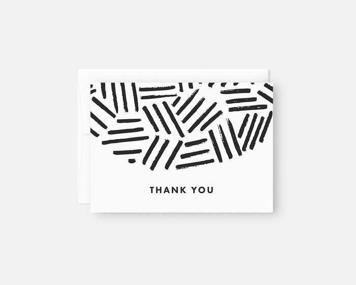Hatch Thank You Notes - Black
