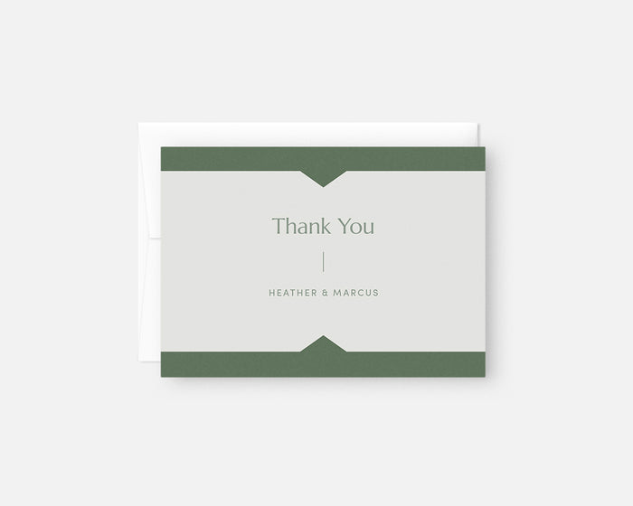 Summit Thank You Notes - Green