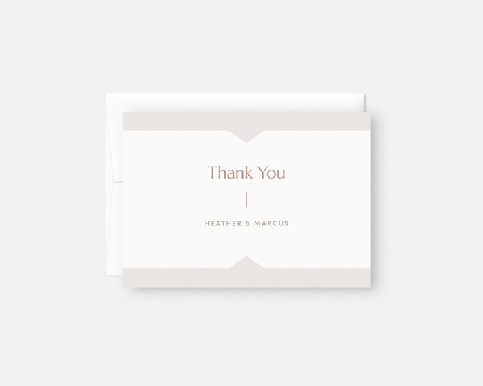 Summit Thank You Notes - Taupe