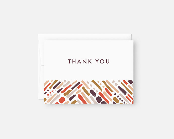 Tunnel Thank You Notes Pink Jaymee Srp