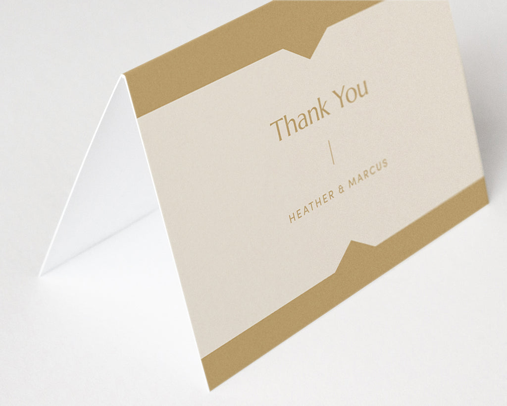 Summit Thank You Notes - Yellow