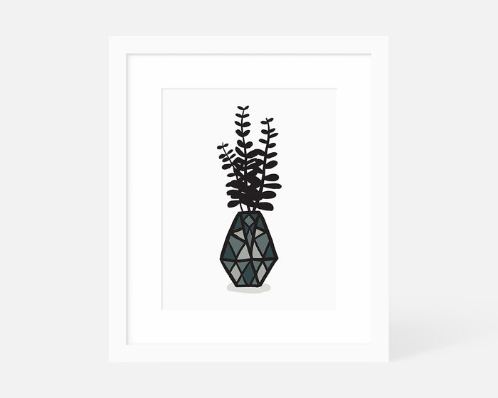Eucalyptus Leaves Art Print