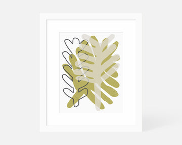 Pressed Fern Art Print