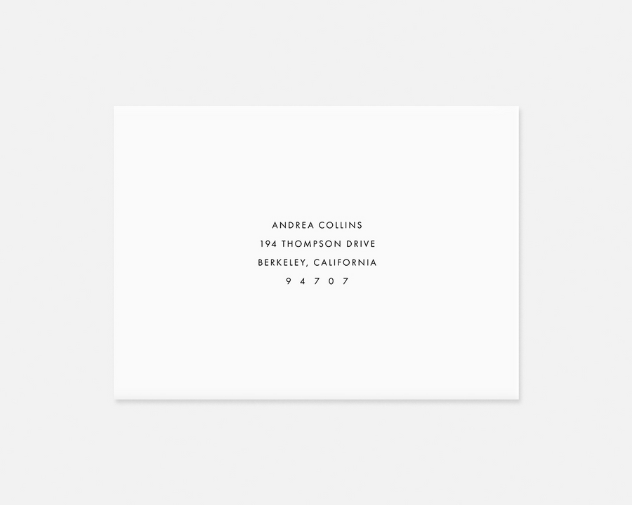 Spotted Invitation - Black