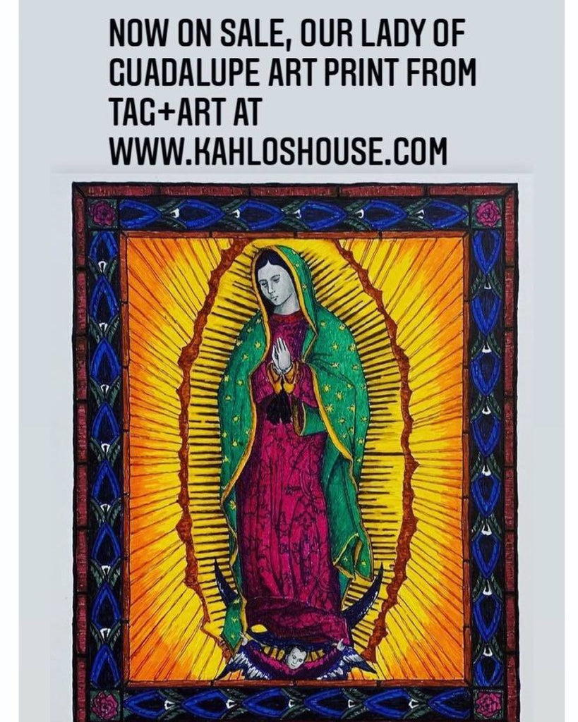 Our Lady of Guadalupe Art Prints !