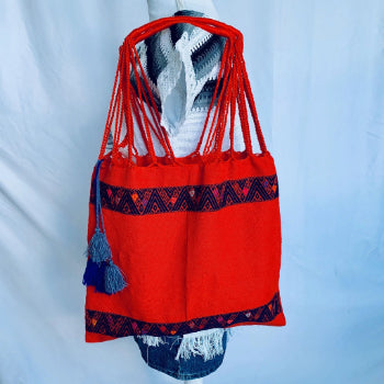 Larráinzar Mexican Handwoven & Hand embroidered Tote bag