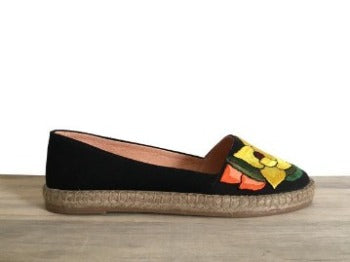 Lolkina Carmina Mexican Embroidered Espadrilles