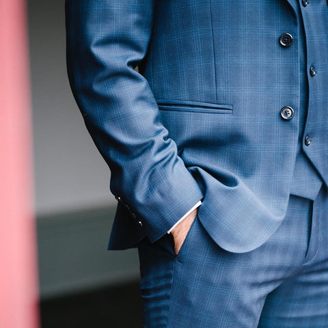 Dapper Blue Suit