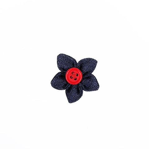 The Bello: Blue Flower Lapel Pin