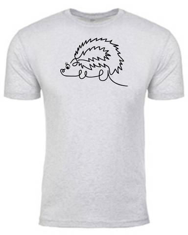Hers Hedgehog - Mens TShirt
