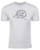 His Hedgehog - Mens TShirt