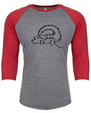 Hers Hedgehog - Baseball Shirt