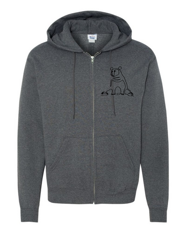 Classic Bear - Champion Brand Zip Sweater