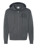 His Hedgehog - Champion Brand Zip Sweater