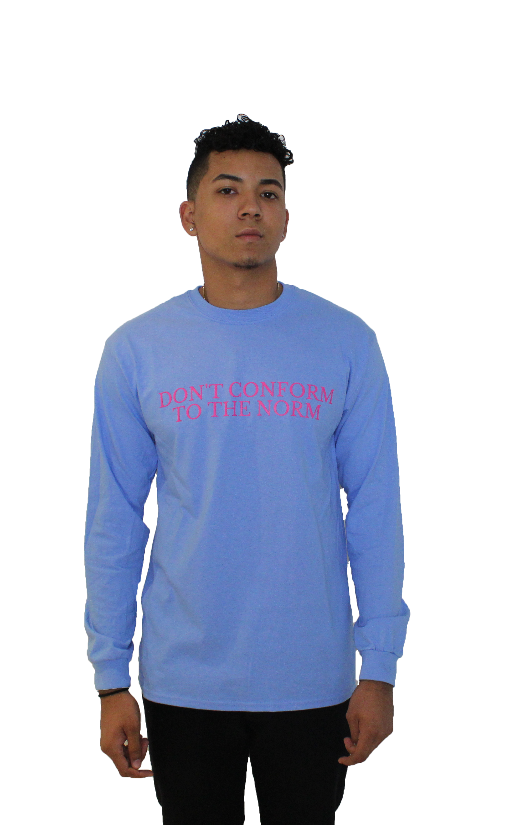 Don't Conform Long Sleeve Blue