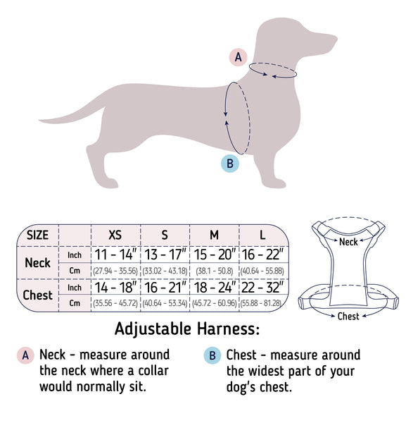 harness sizes