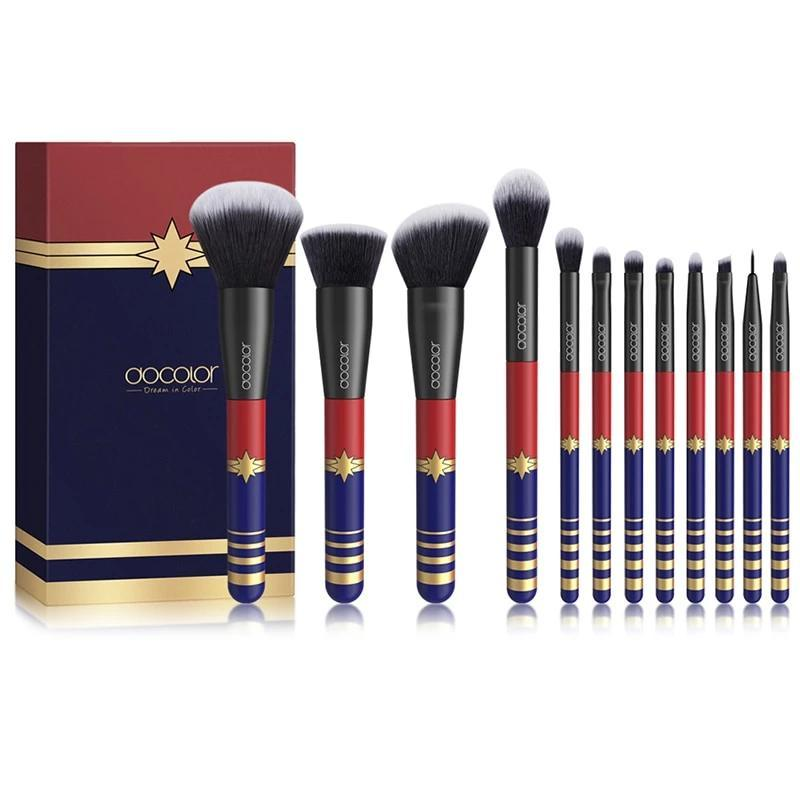 12PCS Professional STARLIGHT GODDESS 12PCS Makeup Brushes Set!