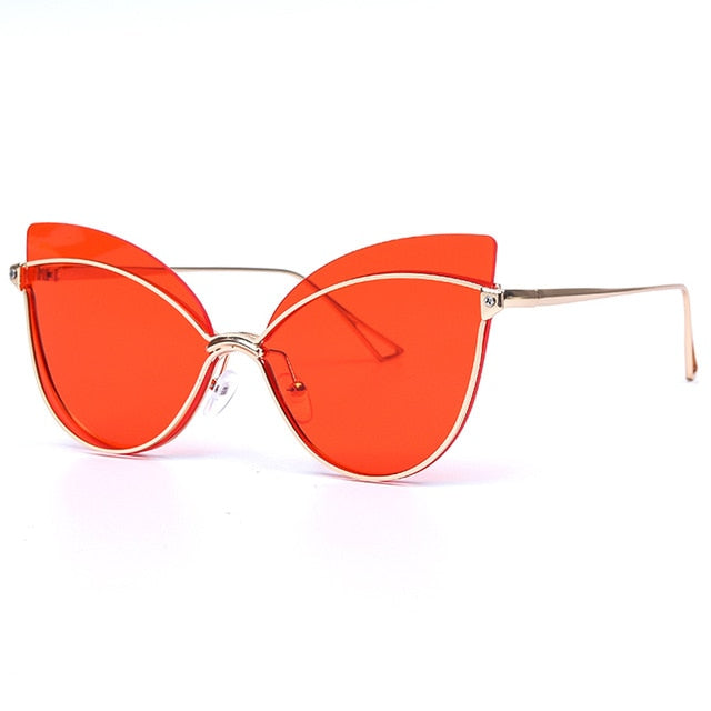 Cat Eye Luxury Fashion Butterfly Eye Shades!