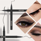 ROSALIND Eyeliner Arrow For Eyes Pencil Makeup Black Waterproof Eyeshadow Glitter Long-lasting Cosmetics Shiny Pen Eye Liner