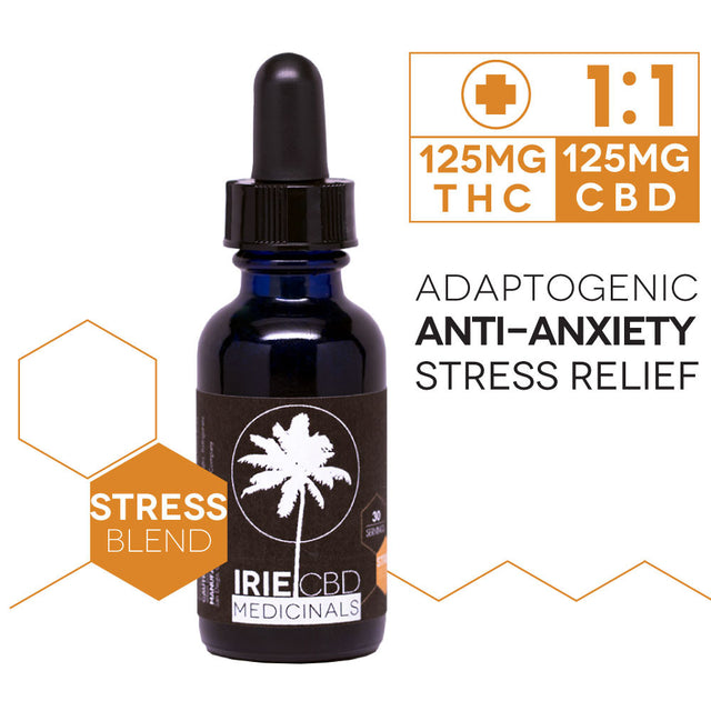 IrieCBD Medicinals 1:1 Stress Support