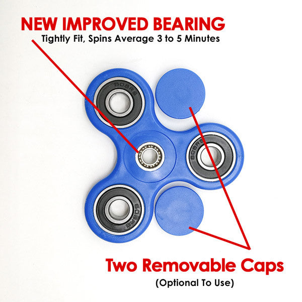Anti-Stress Fidget Hand Spinner -Improved Bearings
