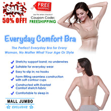 Load image into Gallery viewer, Everyday Comfort Bra (Set of 3) - MallJumbo.com