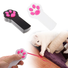 Cat Paw Beam Toy - Laser Pointer - Demo Play