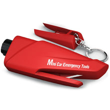 Load image into Gallery viewer, Multi-functional Mini Car Emergency Tools - Red - MallJumbo.com
