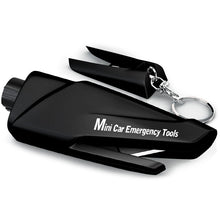 Load image into Gallery viewer, Multi-functional Mini Car Emergency Tools - Black - MallJumbo.com