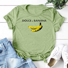 Load image into Gallery viewer, Dolce & Banana Tee - Green / S - MallJumbo.com