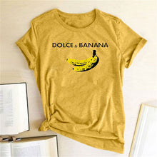 Load image into Gallery viewer, Dolce & Banana Tee - Yellow / S - MallJumbo.com