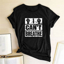 Load image into Gallery viewer, I Can't Breathe T-Shirt - Black / S - MallJumbo.com