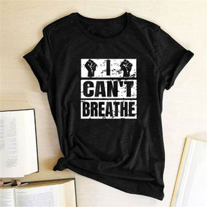 I Can't Breathe T-Shirt - Black / S - MallJumbo.com
