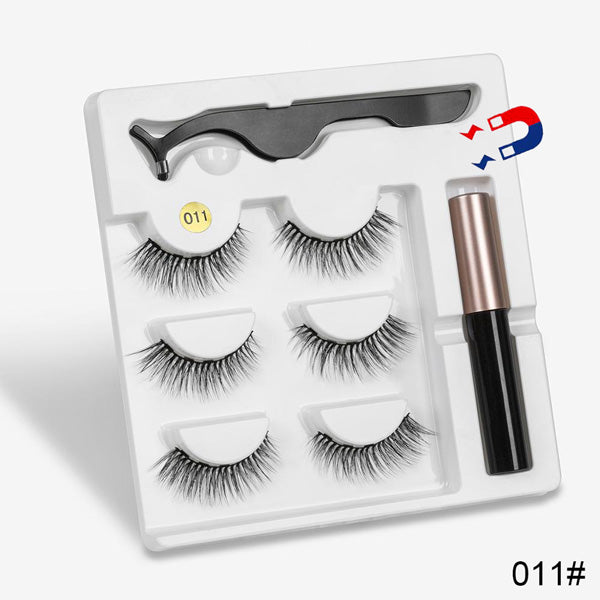 Attractz™ - Magnetic Eyelash & Eyeliner Kit - 011 - MallJumbo.com
