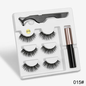 Attractz™ - Magnetic Eyelash & Eyeliner Kit - 015 - MallJumbo.com