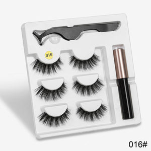 Attractz™ - Magnetic Eyelash & Eyeliner Kit - 016 - MallJumbo.com