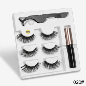 Attractz™ - Magnetic Eyelash & Eyeliner Kit - 020 - MallJumbo.com
