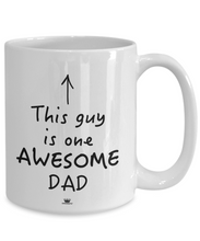 Load image into Gallery viewer, KINGCRAFTZ™ Mug - This Guy Is One AWESOME DAD - MallJumbo.com