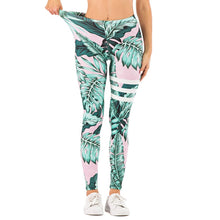 Load image into Gallery viewer, Kireina™ Leggings - Standard Size / Leafty Green - MallJumbo.com