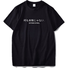 Load image into Gallery viewer, Omoshiroi™ Tee - Nothing is real / S - MallJumbo.com