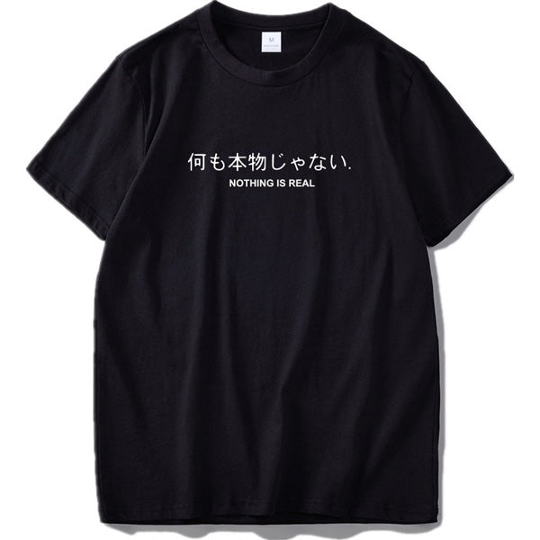 Omoshiroi™ Tee - Nothing is real / S - MallJumbo.com