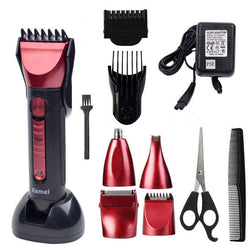 5 in 1 Hair Clipper Rechargeable Beard Trimmer Barber Electric Shaving