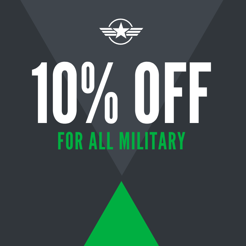 10% Off For All Military