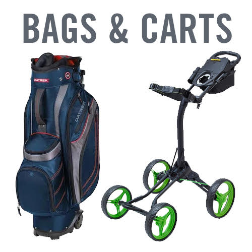 Golf Bags and Push Carts - Datrek Transit, Bag Boy Quad XL