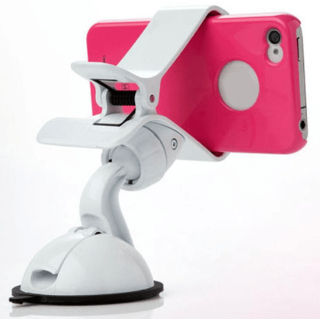 cell phone holder, suction