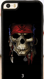 cell phone case, iPhone, skull
