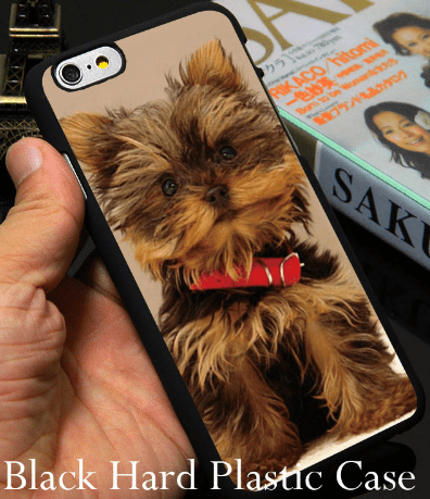 cell phone case, iPhone, yorkie