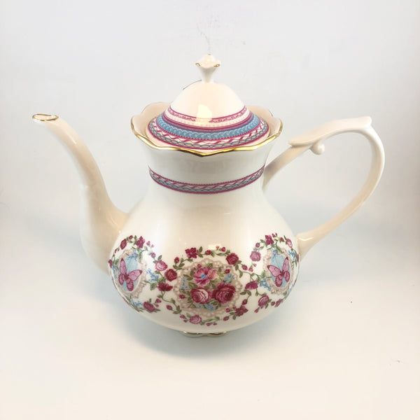 Butterfly Rose Swag Tea Set (by piece or whole set)