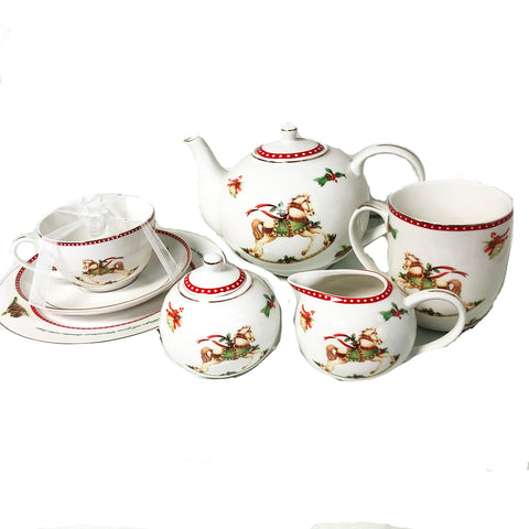 Hobby Horse Tea Set (sold by piece)