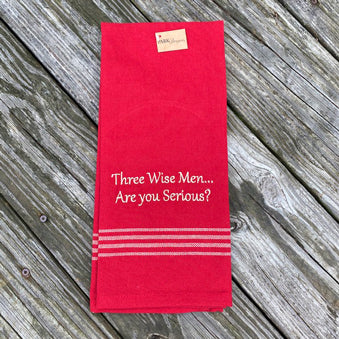 Three Wise Men Dish Towel